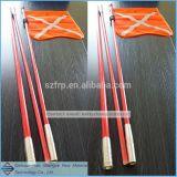 Des Fiberglas-Fahnenmast-FRP des Fahnenmast-GRP des Fahnenmast-FRP runden des Stab-GRP runder Stab-Produzent runder Stab-Fiberglas-Fahnenmast-Produzent-Fiberglas-flexibler Markierungsfahnen-Rod-FRP