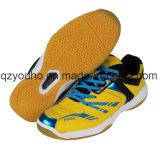 Sapatas profissionais do Badminton do voleibol do tênis do treinamento do desempenho da maioria de homens populares