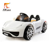 고품질 4개의 가벼운 바퀴를 가진 차에 전기 장난감 아이 전기 탐