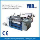Máquina de corte de papel do rebobinamento do bom fax do rolo de registo do dinheiro do preço para a venda