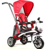 China 3 Rodas Triciclo Bebé Bancos rotativos Filhos de triciclo