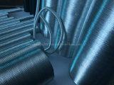 Résistant aux thermique tube de protection en aluminium souple en carton ondulé