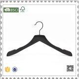 Form-schwarze Plastikkleidung-Luxuxaufhängungen, Mann-Plastikhemd-Aufhängung