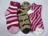De Katoenen van vrouwen Sokken van de Slaap