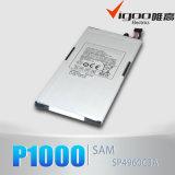 Batterie initiale de bonne qualité de 100% pour la languette P1000 de galaxie de Samsung