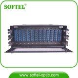 4u 144c Modue type ODF 144 Core avec 12 modules d'épissage à 12 noyaux