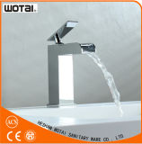 Faucet Finished da bacia da placa do cromo de Wotai