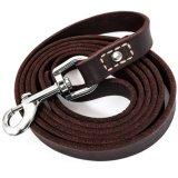 Кожаный нога x темного Brown 6 поводка тренировки собаки руководство кожи 3/4 дюймов для собак