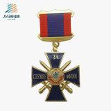 L'alta qualità la medaglia su ordinazione del distintivo della protezione dello smalto militare della pressofusione