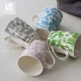 De vierkante Goederen van de Fabriek van China van de Mokken van de Thee van de Bodem Ceramische direct