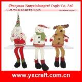 Ткань прибытия рождества украшения рождества (ZY13G124-1-2-3 22CM) вися