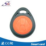 ABS Keychain van de Prijs RFID van de Fabriek T5577 van de Kleur LF 125kHz van de douane