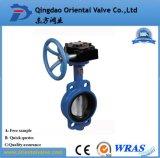 Água potável Pn16 Manual da alavanca da válvula de borboleta do Centro de wafers D71X-16
