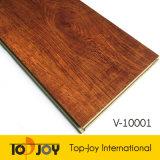 El aspecto de madera suelos de parqué de vinilo resistente al agua