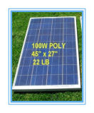 Polybatterie des Sonnenkollektor-100W für WegRasterfeld Systeme (SYFD100-poly)