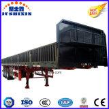 Seitliche Wand des China-direkte Fabrik-Preis-3axles/12tyres/seitlicher Vorstand/Zaun-Dienst-LKW-Traktor-Schlussteil verkauft nach Vietnam