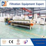 Plc-automatische Membranen-Filterpresse für Öl-Filtration