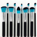 10pcs conjunto de cepillos de maquillaje profesional Cosméticos (HERRAMIENTA-95)