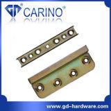 (W543)ベッドは寝具のアクセサリの角の棚の金属のベッドフレームのコネクターブラケットのベッドのヒンジに蝶番を付ける