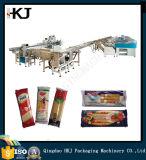 Máquina automática de empacotamento e embalagem de noodle com oito pesadores (BJWD -CLKZQZD-100)
