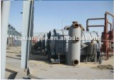 10ton pneu para máquinas de reciclagem de óleo diesel poluição zero
