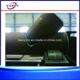 Machine de chanfrein de machine de découpage de plasma de commande numérique par ordinateur du diamètre 1-60mm de pipe de la longueur 12m