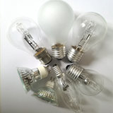 220-240V Clear Halogen Light Bulb