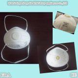 Masque à oxygène à usage unique de forme de cuvette avec la soupape