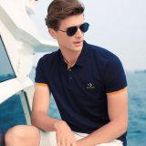 Vêtements loisirs 100% coton hommes polo T-shirt personnalisé