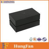 بقعة [أوف] علامة تجاريّة رفاهيّة أسود ورقيّة يعبّئ رابط صندوق
