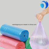Impression faite sur commande de sacs plats de perte de couleur de HDPE/LDPE avec la bonne qualité
