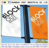 Bandiera bianca del PVC Blockout per la pubblicità esterna