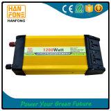 Inversor portable caliente DC/AC de la potencia de la apagado-Red 1200W del producto con Ce&RoHS
