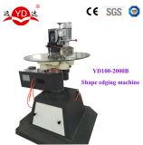 Máquina que bisela de la dimensión de una variable de cristal irregular