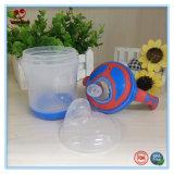 BPAは二重カラーハンドルが付いている赤ん坊のSippyのコップを放す
