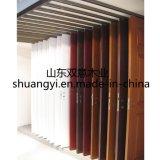 Porte en bois intérieure personnalisée du prix usine PVC/MDF