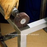 Roda abrasiva da aleta com pata