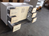MDF Base Drawer Kitchen Cabinets mit Dtc Gliders