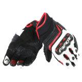 Il motocross su ordinazione mette in mostra i guanti che corrono i guanti di cuoio del motociclo (MAG97)