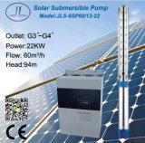 pompa ad acqua solare centrifuga sommergibile 30HP di 6in