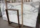 Белые мраморные Arabescato/плитки на пол и стены слоя керамической плитки