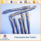 Fibre Twisted du paquet pp pour le renfort concret