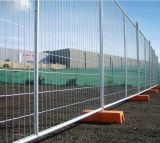 Painel provisório da cerca de Canadá, cerca provisória do engranzamento de fio da construção