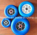 carrinho de mão de roda 14inches e roda de borracha usada trole