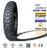 El sur de América del camino cansa el neumático 110/90-18 de la motocicleta del neumático de la motocicleta de la moto de las piezas de la motocicleta