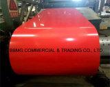 La Chine de tôle en acier galvanisé prélaqué concurrentiel/ PPGI Bobines en acier/acier recouvert de couleur bobine pour panneau de toit