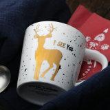 Golden Deer Xms caneca de cerâmica