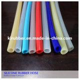 FDA Food Grade silicona transparente Tubo / Tubo de goma de silicona resistente