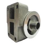 Base de filtre à moteur en fonte d'aluminium haute qualité OEM