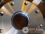 Kogelklep van de Flens van het roestvrij staal de Hand1PC Integrale